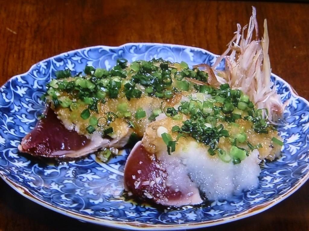 鰹のたたき 独特の風味と食べ応えが魅力の土佐の味