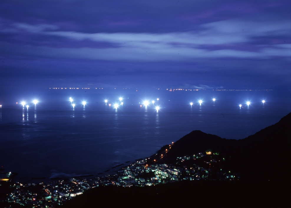 津軽海峡漁火 函館市