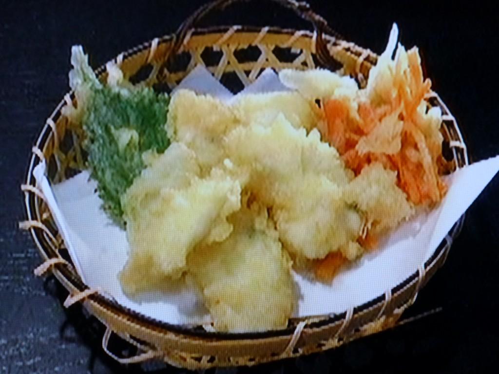 お目にかかることのまれなマゴチの天ぷら