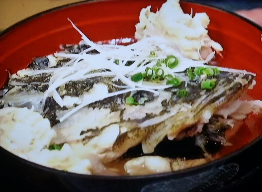 残ったアラは潮汁か味噌汁に。鍋物でも美味で、ブイヤベースにも好んで使われる